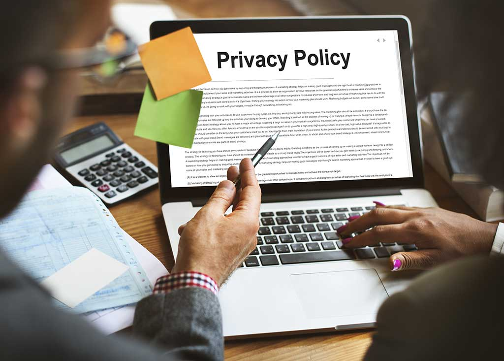 Privacy Policy for websites