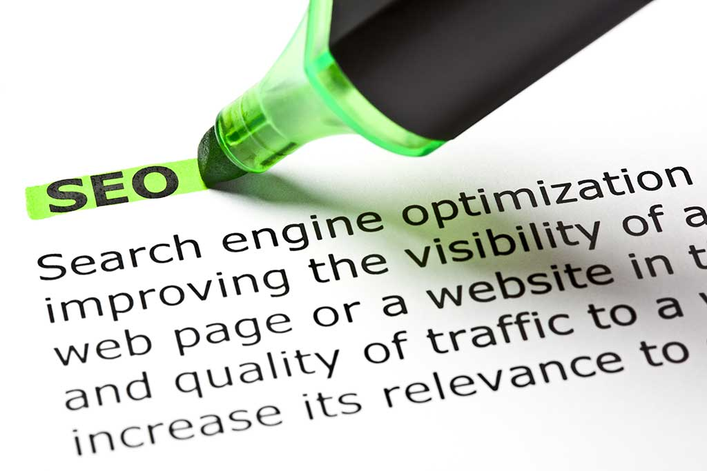 The definition of SEO