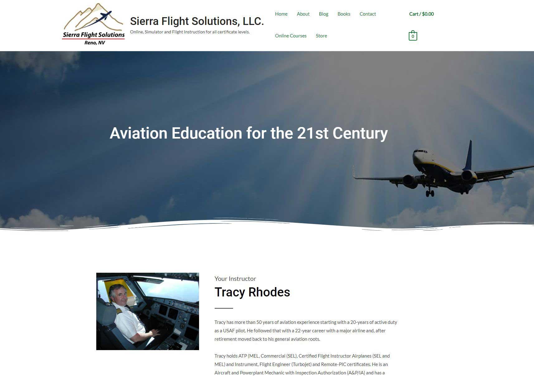 Sierra Flight Solutions, LLC.